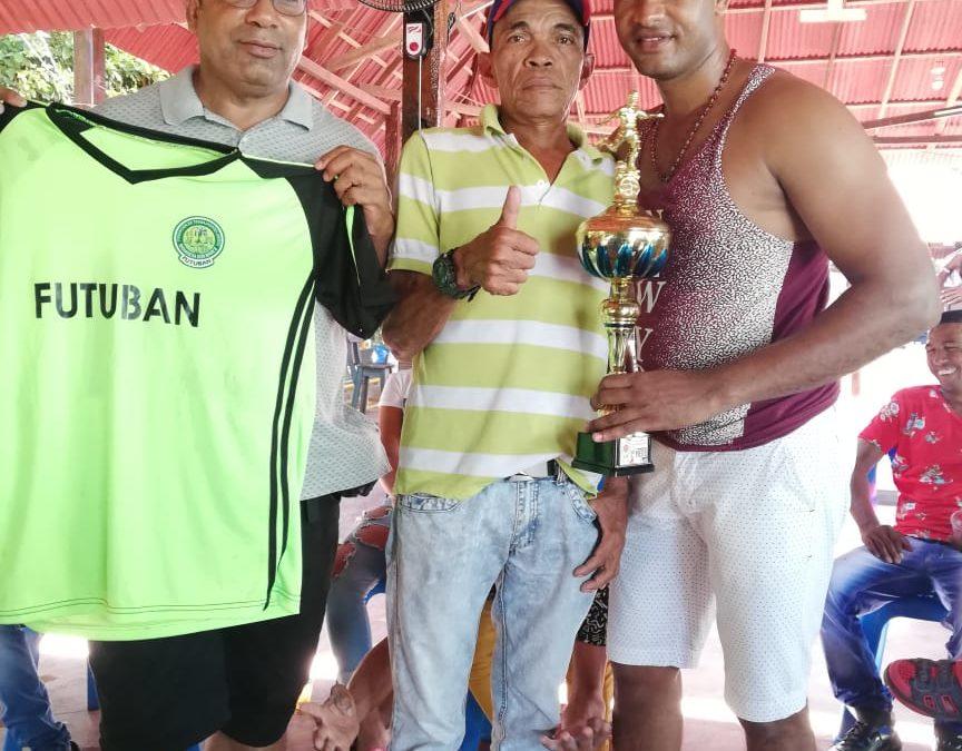Equipo de fútbol de Bananera Don Marce ocupa 3er puesto en Campeonato